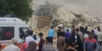 آبفا و اداره گاز جهرم مقصران حادثه انفجار منزل مسکونی در جهرم