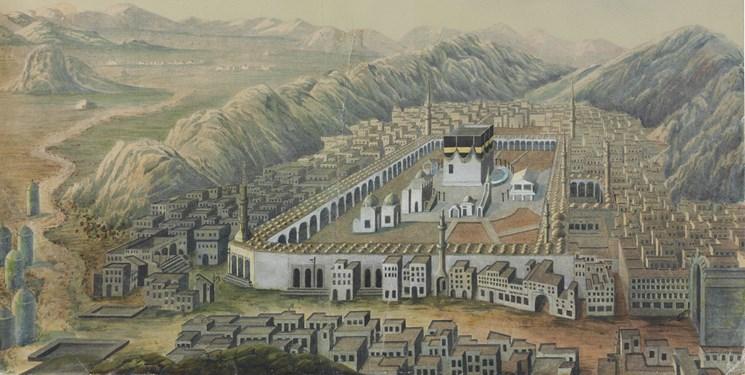 مکه ۲۳۰ سال پیش چه شکلی بود + تصاویر
