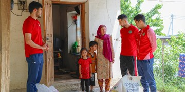 اقدام خیرخواهانه استقلال/کمک رقیب پرسپولیس به خانوادههای کم درآمد+عکس