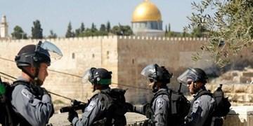 ازسرگیری درگیری صهیونیستها با نمازگزاران فلسطینی در مسجدالاقصی+تصاویر
