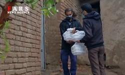 فیلم| توزیع ۱۲ هزار پرس غذا بین نیازمندان خراسان جنوبی
