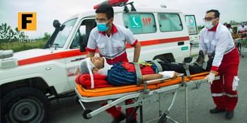 وقوع ۳ حادثه با ۴ مصدوم در استان سمنان