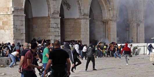 مجروح شدن 5 نظامی صهیونیست در درگیری با جوانان فلسطینی در یافا