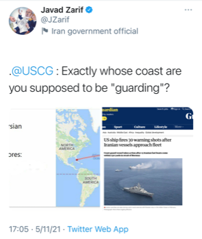 Whose coasts are you supposed to be guarding?