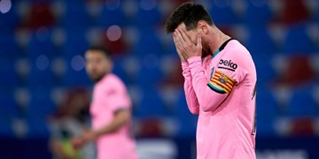 واکنش مطبوعات رئالی به تساوی بارسا / مسی قهرمانی را دو دستی به مادرید هدیه داد +تصویر