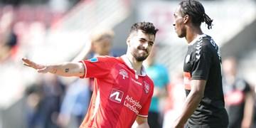 عزت اللهی در تیم منتخب هفته لیگ دانمارک +عکس