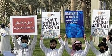 تظاهرات در کویت و قطر برای اعلام همبستگی با ملت فلسطین