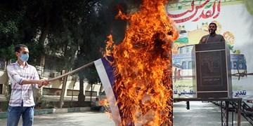 تجمع دانشجویان انقلابی خوزستان در حمایت از مردم فلسطین