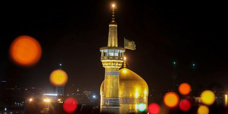 حال و هوای شاد بهاری حرم شمس الشموس در آستانه عید سعید فطر