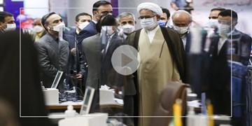 بازدید دادستان کل کشور از ستاد انتخابات کشور