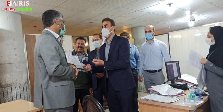 14000222001081 Test PhotoN - بازدید دادستان دنا  از ستاد بازسازی مناطق زلزلهزده سیسخت/تصاویر