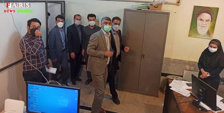 14000222001086 Test PhotoN - بازدید دادستان دنا  از ستاد بازسازی مناطق زلزلهزده سیسخت/تصاویر