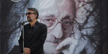 پیکر عبدالوهاب شهیدی در خانه ابدی آرام گرفت/ آواز غمگین افتخاری بر مزار پیر موسیقی ایران