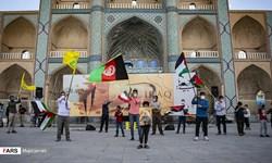 عکس انزجار مردم دارالعباده نسبت به جنایات اسرائیل و داعش در کابل