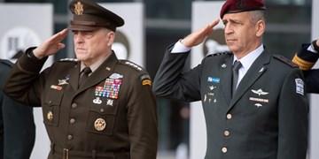تماس تلفنی فرماندهان ارتشهای آمریکا و رژیم صهیونیستی