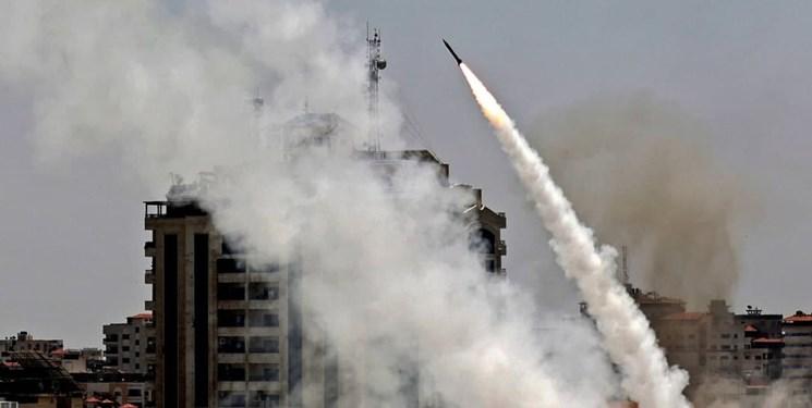 ارتش صهیونیستی: تاکنون بیش از ۱۵۰۰ راکت از غزه شلیک شده است