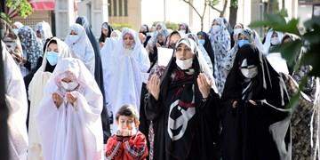 برپایی نماز باشکوه عید سعید فطر در اراک