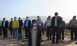 اقامه نماز عید فطر گچساران جلوهای از شکوه و عظمت اسلام+ تصاویر