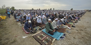 نماز عید فطر 1400||| بندرترکمن