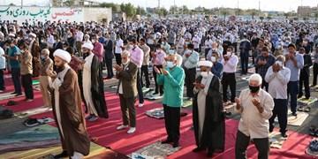 اقامه نماز عید فطر در مصلی جیرفت