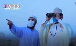 فیلم| آئین استهلال هلال ماه شوال در بیرجند