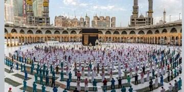 نماز عید فطر در مسجدالحرام اقامه شد+عکس