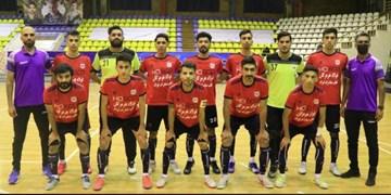 فیلم  پیروزی فولاد هرمزگان در رقابت ها لیگ دسته اول فوتسال باشگاه های کشور