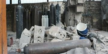 انفجار کپسولهای شارژ اکسیژن 3 مصدوم برجای گذاشت