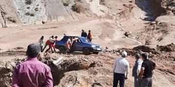 سیل شدید در مناطق روستایی آرادان/ ۵۰ نفر در سیلاب گرفتار شدند