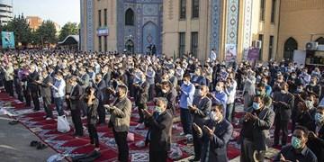 فیلم  اقامه نماز عید فطر در ارومیه