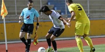 هفته بیست و چهارم لیگ دسته اول| پایان هفته با سه نتیجه مشابه/ شکست خیبر در سیرجان و برد تیمهای جنوبی در زمین خودی