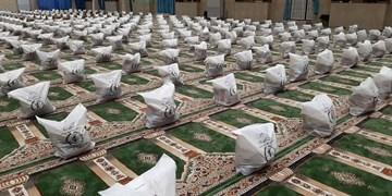 توزیع 10 هزار بسته معیشتی با حضوررئیس سازمان بسیج سازندگی در گلستان/ 100 سری جهیزیه به نوعروسان اهدا شد