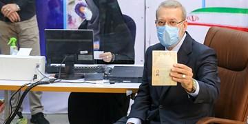 نامنویسی علی لاریجانی در انتخابات ریاست جمهوری