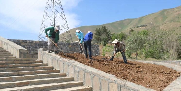 14000225000135 Test PhotoN - آغاز عملیات احداث فضای پارک دو هکتاری باغ ایرانی در سنندج/احداث ۴ هزار مترمربع فضای سبز
