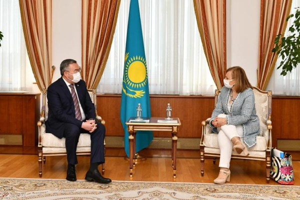 14000225000347 Test PhotoL - «نورسلطان» میزبان مشاورههای سیاسی قزاقستان و اسپانیا