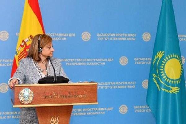 14000225000352 Test PhotoL - «نورسلطان» میزبان مشاورههای سیاسی قزاقستان و اسپانیا