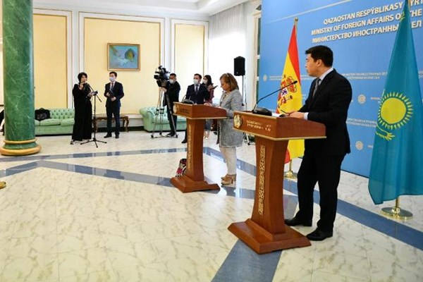 14000225000356 Test PhotoL - «نورسلطان» میزبان مشاورههای سیاسی قزاقستان و اسپانیا