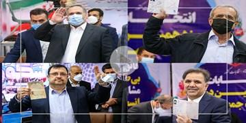 گزیده نشست های خبری آخوندی، پزشکیان، فیروزآبادی و حسینی پس از ثبت نام در ریاست جمهوری