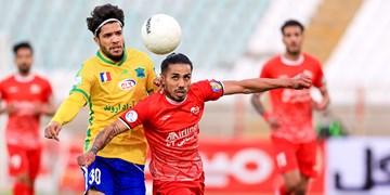 لیگ برتر فوتبال||| تراکتور 1 - 1 صنعت نفت