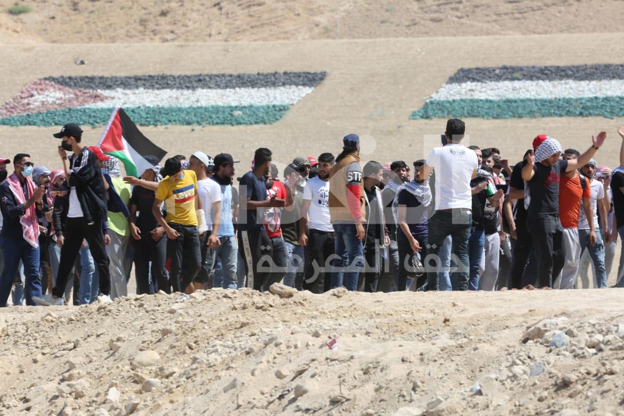 14000225000573 Test NewPhotoFree - صدها اردنی  در دومین روز متوالی به سمت مرزهای فلسطین حرکت کردند+فیلم
