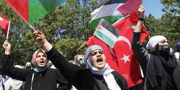 درخواست شهروندان ترکیهای؛ نیروی نظامی به قدس اعزام کنید