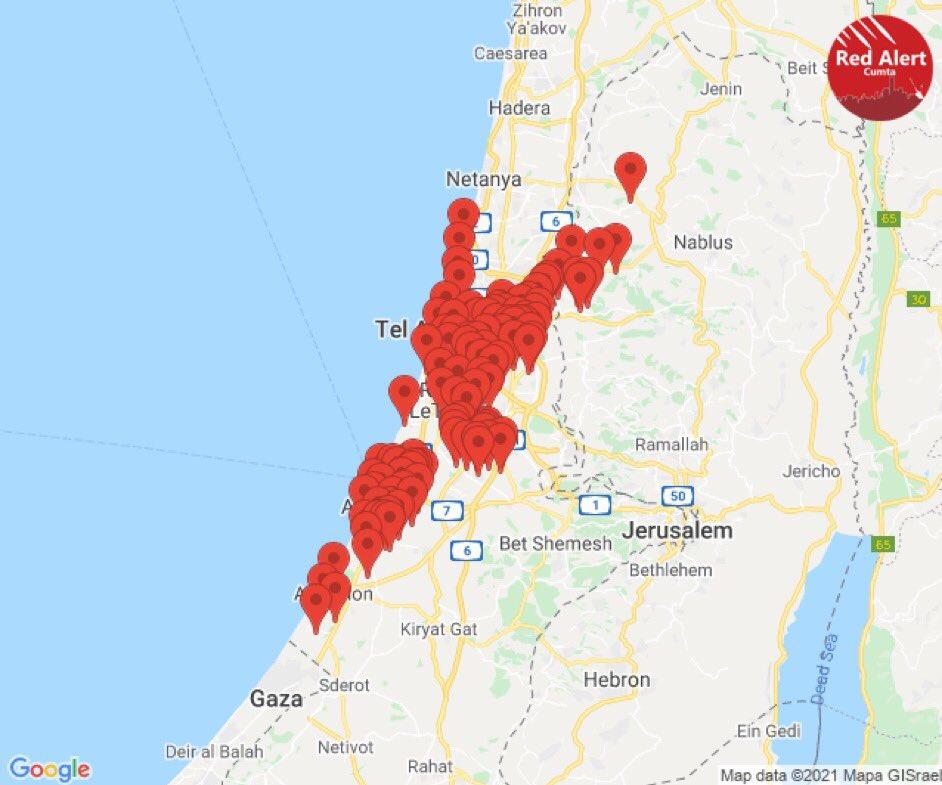 14000226000028 Test NewPhotoFree - آژیرهای هشدار در تلآویو/ القسام: حمله موشکی بزرگ به تلآویو انجام شد