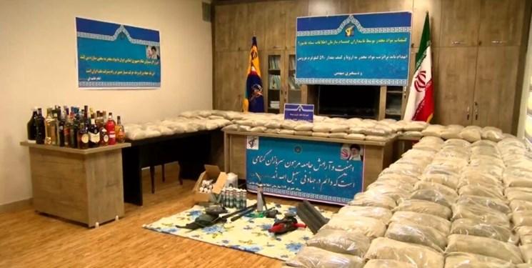 افزایش ۱۲۳ درصدی کشفیات موادمخدر در آذربایجانشرقی /  متلاشی شدن ۲۳ باند منطقهای و بینالمللی  موادمخدر