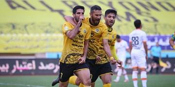گزارش تصویری از پیروزی پرگل سپاهان مقابل مس رفسنجان