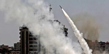 هشتمین روز از پاسخ موشکی مقاومت فلسطین+تصاویر