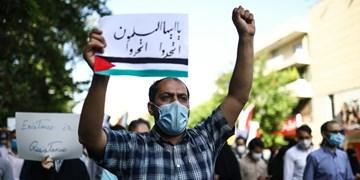 اجتماع ضدصهیونیستی در مسجدالاقصی تهران