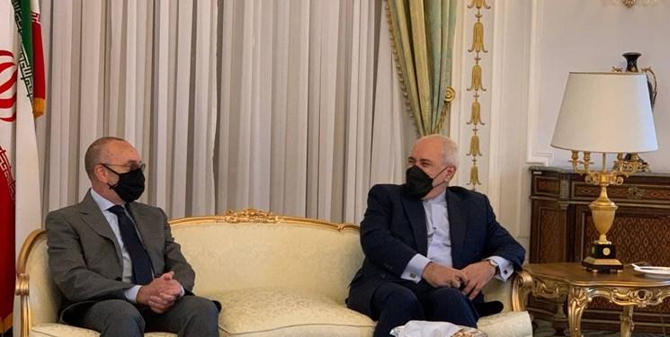 دیدار ظریف با رئیس کمیسیون سیاست خارجی مجلس سنای ایتالیا