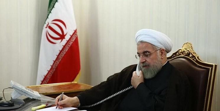 روحانی در گفتوگو با امیر قطر: چالش اساسی منطقه نظامی گری برخی کشورها و رژیم صهیونیستی است