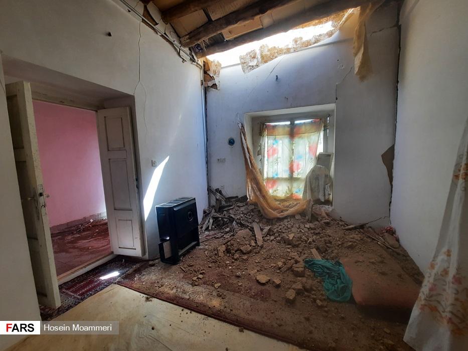 مناطق زلزلهزده خراسان شمالی به روایت تصویر