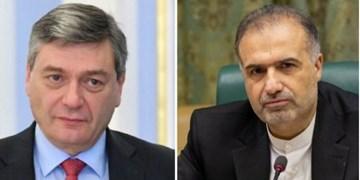 رایزنی دیپلماتهای ایران و روسیه در خصوص آخرین تحولات  در قره باغ